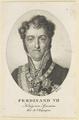Bildnis des Ferdinand VII, K�nig von Spanien, Johann Friedrich Bolt - 1820/1836 (Quelle: Digitaler Portraitindex)