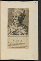 Bildnis des Plato, 1601/1750 (Quelle: Digitaler Portraitindex)